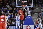 DESCRIZIONE : Eurocup 2015-2016 Last 32 Group N Dinamo Banco di Sardegna Sassari - Szolnoki Olaj<br /> GIOCATORE : Dino Gregory<br /> CATEGORIA : Schiacciata Controcampo<br /> SQUADRA : Szolnoki Olaj<br /> EVENTO : Eurocup 2015-2016<br /> GARA : Dinamo Banco di Sardegna Sassari - Szolnoki Olaj<br /> DATA : 03/02/2016<br /> SPORT : Pallacanestro <br /> AUTORE : Agenzia Ciamillo-Castoria/L.Canu
