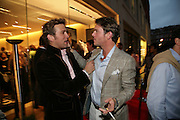 STEFAN BOOTH AND  ANDERS BERNUNGER, De Grisogono & Londino Car Rally  party. <br />