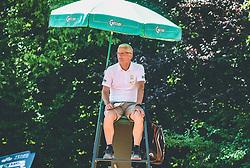 Sodnik Bojan Gorenc, Finale Telemach 1. moske clanske lige med TK Triglav Kranj in TK Terme Ptuj,  on June 27, 2021 in Kranj, Slovenia. Photo by Vid Ponikvar / Sportida