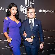 NLD/Amsterdam/20171114 - Esquire's Best Dressed Man 2017, Dounia Rijkschroeff