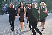 Crown Princess Mary of Denmark;  HE AMBASSADOR BIRGER RIIS-JORGENSEN GREETED BY SHEENA WAGSTAFF, Per Kirkeby Opening Reception and Dinner. Tate Modern. 16 June 2009.