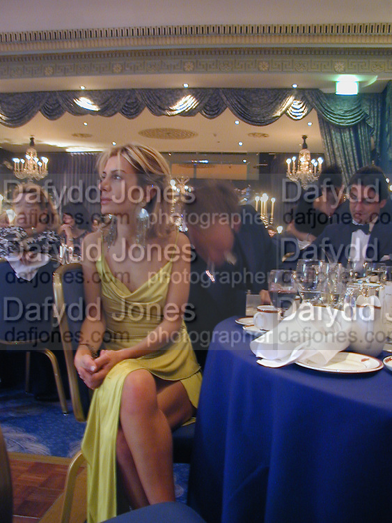 Miss Sahar Hashemi. ? James Bond charity Ball in aid of Baby Lifeline. Dorchester. 30 October 2000.  © Copyright Photograph by Dafydd Jones 66 Stockwell Park Rd. London SW9 0DA Tel 020 7733 0108 www.dafjones.com