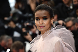 Liya Kebede attending the Pain and Glory Premiere as part of the Cannes 72nd Film Festival in France