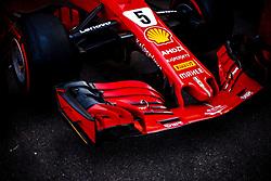 May 25, 2018 - Montecarlo, Monaco - Aerodynamic detail of front wing of  05 Sebastian Vettel from Germany with Scuderia Ferrari SF71H car during the Monaco Formula One Grand Prix  at Monaco on 25th of May, 2018 in Montecarlo, Monaco. (Credit Image: © Xavier Bonilla/NurPhoto via ZUMA Press)