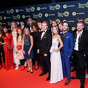NLD/Amsterdam/20181011 - Televizier Gala 2018, cast Mudsicalfabriek oid