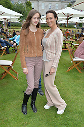 LADY NUTTALL and her daughter AMBERLEY at the Cartier hosted Style et Lux at The Goodwood Festival of Speed at Goodwood House, West Sussex on 26th June 2016.