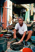 Fishmonger  in Singapore.