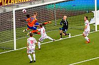 1. divisjon fotball 2018: Aalesund - Levanger (4-0). i kampen i 1. divisjon i fotball mellom Aalesund og Levanger på Color Line Stadion.
