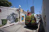 tel Aviv, Newe Zedek neighborhood. Il quartiere di Newe Zedek