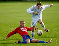Fotball - 1.divisjon 15. september 2002. Strømsgodset - Skeid. Paal Chr. Alsakser, SIF.<br /> <br /> Foto: Andreas Fadum, Digitalsport