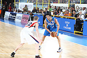 DESCRIZIONE : Cagliari Eurobasket Men 2009 Additional Qualifying Round Italia Francia<br /> GIOCATORE : Matteo Soragna<br /> SQUADRA : Italy Italia Nazionale Maschile<br /> EVENTO : Eurobasket Men 2009 Additional Qualifying Round <br /> GARA : Italia Francia Italy France<br /> DATA : 05/08/2009 <br /> CATEGORIA : difesa <br /> SPORT : Pallacanestro <br /> AUTORE : Agenzia Ciamillo-Castoria/C.De Massis
