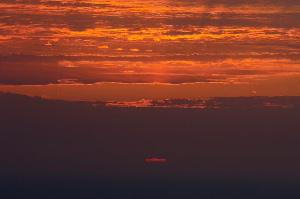 Sunset over Akamas Peninsula, Cyprus