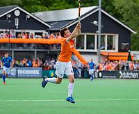 BLOEMENDAAL - Thierry Brinkman (Bldaal)    tijdens finale van de play-offs om de Nederlandse titel, Bloemendaal tegen titelhouder Kampong (1-2). Door de overwinning van Kampong volgt er zondag een derde wedstrijd.   COPYRIGHT KOEN SUYK