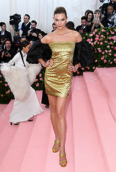 """Karlie Kloss at the 2019 Costume Institute Benefit Gala celebrating the opening of """"Camp: Notes on Fashion"""".<br />(The Metropolitan Museum of Art, NYC)"""
