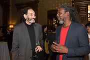 HEW LOCKE; HURVIN ANDERSON; , TenTen. The Government Art Collection/Outset Annual Award. Champagne reception to announce the inaugural artist Hurvin Anderson and unveil his 2018 print. Locarno Suite, Foreign and Commonwealth Office. SW1. 2 October 2018