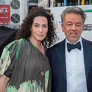 NLD/Amsterdam/201905225 - Amsterdamdiner 2019, Yves Gijrath en partner Tamara