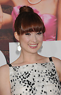 """WESTWOOD, CA - APRIL 28: Ellie Kemper arrives at the premiere of Universal Pictures' """"Bridesmaids"""" held at Mann Village Theatre on April 28, 2011 in Los Angeles, California."""