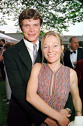 MR JACK KIDD polo playing brother of Jodie and <br /> Jemma Kidd and his fiance MISS BE KEMENY, at <br /> a party in London on 3rd June 2000.OEZ 170<br /> © Desmond O'Neill Features:- 020 8971 9600<br />    10 Victoria Mews, London.  SW18 3PY <br /> www.donfeatures.com   photos@donfeatures.com<br /> MINIMUM REPRODUCTION FEE AS AGREED.<br /> PHOTOGRAPH BY DOMINIC O'NEILL