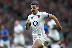 England's George Ford during the Autumn International at Twickenham Stadium, London. PRESS ASSOCIATION Photo. Picture date: Saturday November 25, 2017. See PA story RUGBYU England. Photo credit should read: Paul Harding/PA Wire. RESTRICTIONS: Editorial use only, No commercial use without prior permission