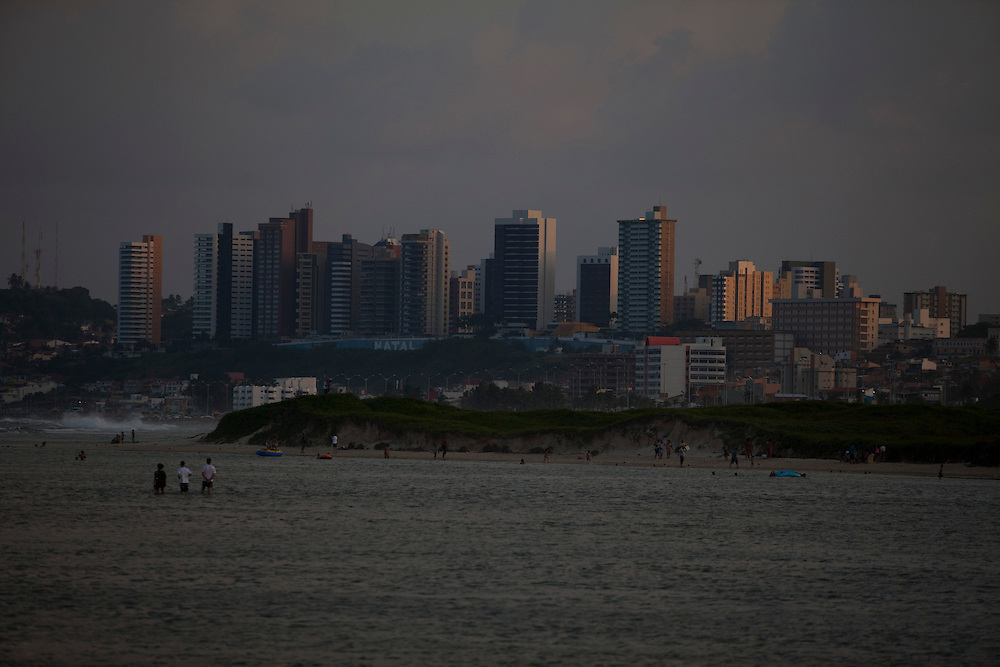 Natal_RN, Brasil...Vista de regiao central da cidade de Natal...The center city in Natal...Foto: LEO DRUMOND / NITRO