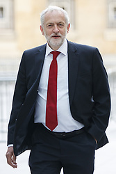 June 11, 2017 - London, UK. Labour leader JEREMY CORBYN arrives at BBC Broadcasting House in London to appear on the Andrew Marr show. (Credit Image: © Tolga Akmen/London News Pictures via ZUMA Wire)