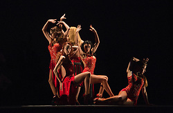 "© Licensed to London News Pictures. 30/01/2013. London, England. Scene: Verano Porteño. The show ""FLAMES OF DESIRE"" by the Argentine dance company ""TANGO FIRE"" opens at the Peacock Theatre, London for a run to 24 February 2013. Photo credit: Bettina Strenske/LNP"