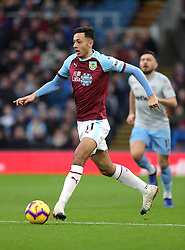 Burnley's Dwight McNeil during the Premier League match at Turf Moor, Burnley.