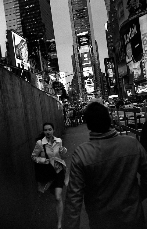 """Times Square...""""I See A Darkness"""" - Oct and Nov 2007..."""