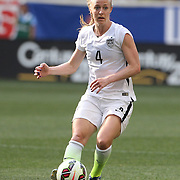 Becky Sauerbrunn, U.S. Women's National Team in action during the U.S. Women's National Team Vs Korean Republic, International Soccer Friendly in preparation for the FIFA Women's World Cup Canada 2015. Red Bull Arena, Harrison, New Jersey. USA. 30th May 2015. Photo Tim Clayton