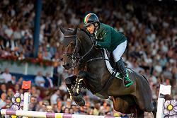 O'CONNOR Cian (IRL), Good Luck<br /> Aachen - CHIO 2018<br /> Mercedes Benz Nationenpreis<br /> 19. Juli 2018<br /> © www.sportfotos-lafrentz.de/Stefan Lafrentz
