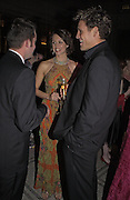 Beverley Turner and James Cracknell, British Fashion Awards, V. & A. Museum. 2 November 2004. ONE TIME USE ONLY - DO NOT ARCHIVE  © Copyright Photograph by Dafydd Jones 66 Stockwell Park Rd. London SW9 0DA Tel 020 7733 0108 www.dafjones.com