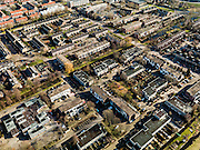 Nederland, Zuid-Holland, Gemeente Lekkerkerk, 20-02-2012; Lekkerkerk-West,  de wijk is bekend van het gifschandaal uit de jaren '80.QQQ.luchtfoto (toeslag), aerial photo (additional fee required);.copyright foto/photo Siebe Swart.