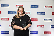 Fleur Knowsley of Google Fiber Inc. poses for a photo during the Bay Area Corporate Counsel Awards at The Westin San Francisco Airport in Millbrae, California, on March 18, 2019. (Stan Olszewski for Silicon Valley Business Journal)