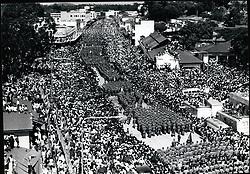 1972 - Ugandan troops march past Kampala. Idi Amin s first anniversary, Jan. 1972 (Credit Image: © Keystone Pictures USA/ZUMAPRESS.com)