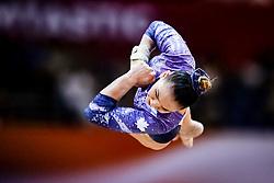 November 2, 2018 - Doha, Qatar - Shallon Olsen of Canada   during  Vault for Women at the Aspire Dome in Doha, Qatar, Artistic FIG Gymnastics World Championships on 2 of November 2018. (Credit Image: © Ulrik Pedersen/NurPhoto via ZUMA Press)