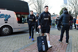 Francois Louw and the rest of the Bath Rugby team arrive at Kingsholm Stadium - Mandatory byline: Patrick Khachfe/JMP - 07966 386802 - 04/01/2020 - RUGBY UNION - Kingsholm Stadium - Gloucester, England - Gloucester Rugby v Bath Rugby - Gallagher Premiership