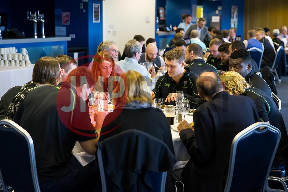 Worcester Warriors Player Sponsors Lunch - Rogan Thomson/JMP - 14/03/2017 - RUGBY UNION - Sixways Stadium - Worcester, England.