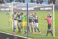 Football - 2019 / 2020 Sky Bet (EFL) Championship - Millwall vs. West Bromwich Albion<br /> <br /> Tempers flare in the final minutes, at The Den.<br /> <br /> COLORSPORT/ASHLEY WESTERN