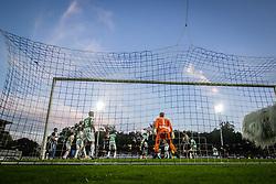 during football match between NS Mura and FK Zalgiris in 3rd qualifying round of UEFA Europa League, on 5th of August, 2021 in Fazanerija, Murska Sobota, Slovenia. Photo by Blaž Weindorfer / Sportida