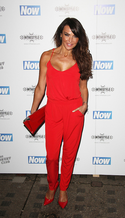 Lizzie Cundy, Now Magazine - Christmas Party, The Drury Club, London UK, 25 November 2014, Photo By Brett D. Cove