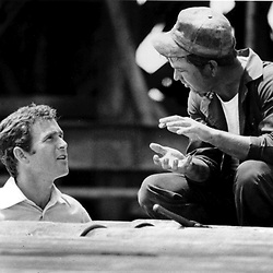 HS384     George W. Bush campaigning for Congress in the Midland, TX, oilfields, 1978. <br /> Photo Credit:  George Bush Presidential Library
