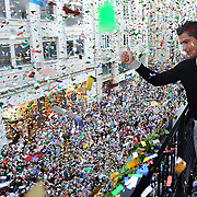 Real Madrid's Cristiano RONALDO came to istanbul, Turkey, 18 June 2011. Photo by TURKPIX