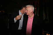 Michael Craig-Martin, Party hosted by Larry Gagosian at Nobu, Berkeley St. London. 9 October 2007. -DO NOT ARCHIVE-© Copyright Photograph by Dafydd Jones. 248 Clapham Rd. London SW9 0PZ. Tel 0207 820 0771. www.dafjones.com.