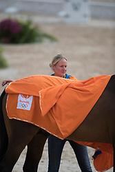 Parkko Lisa, FIN<br /> Horse Inspection<br /> Olympic Games Rio 2016<br /> © Hippo Foto - Dirk Caremans<br /> 12/08/16