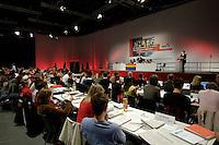 11 JUN 2005 LEIPZIG/GERMANY:<br /> Uebersich, waehrend der Rede von Bjoern Boehning, Juso Bundesvorsitzender, Bundeskongress der Jusos, Media City Leipzig<br /> IMAGE: 20050611-01-027<br /> KEYWORDS: Björn Böhning, speech, Übersicht