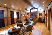 JUSTIN, TX - FEBRUARY 4, 2014: The master bedroom of a home for sale at 1780 Strader Road for the What You Get column. (Cooper Neill / for The New York Times)