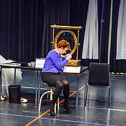 NLD//Amsterdam20160415 - Persdag toneelstuk In de Ban van Broadway, Tjitske Reidinga en Loes Luca