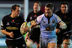 during the second half of the match - Photo mandatory by-line: Rogan Thomson/JMP - Tel: Mobile: 07966 386802 18/11/2012 - SPORT - RUGBY - Rodney Parade - Newport. Newport Gwent Dragons v Northampton Saints - LV= Cup Round 2