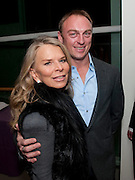 "LADY TINA GREEN; TONY LEWIS, Launch party for a very large limited Edition of  ""The History of the Saatchi Gallery ""edited by Booth Clibborn and published by Kraken Opus. Saatchi Gallery,  The Kings Road. London. 26 November 2009"