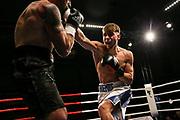 Boxen: Fritz Sdunek Memorial 2019, Zinnowitz, 21.09.2019<br /> Halbschwergewicht: Moris Markowitsch (GER) - Fabian Thiemke (GER)<br /> © Torsten Helmke